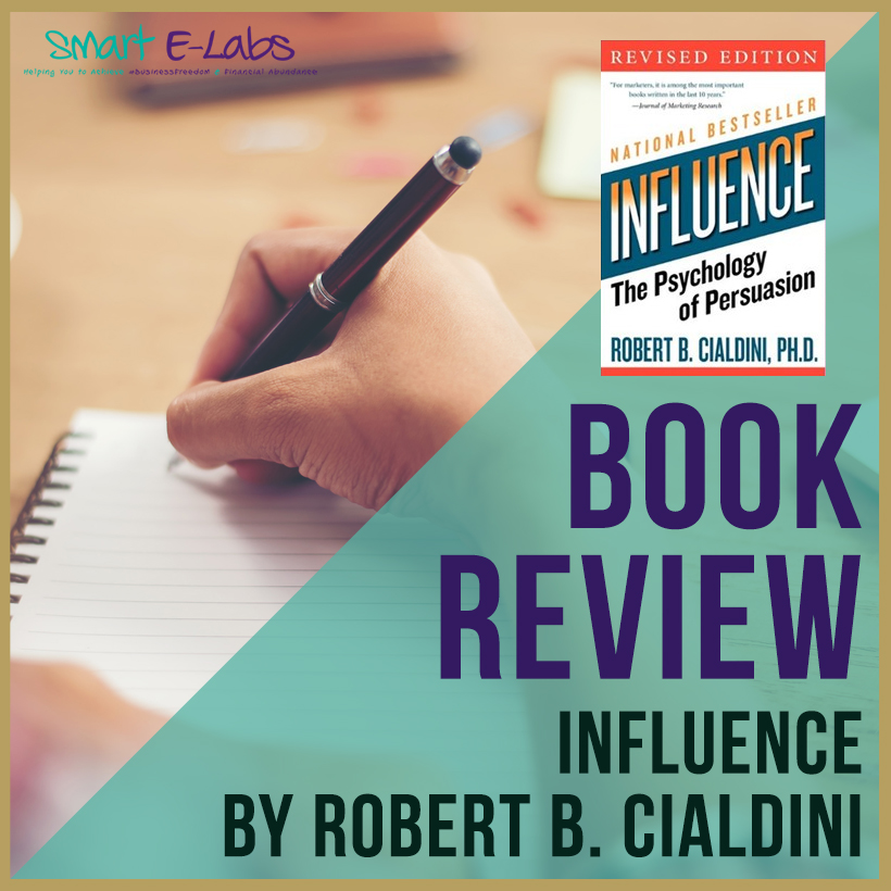 influence cialdini booklet review